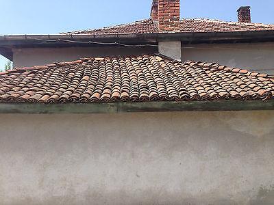 600 St.alte Dachpfanne, Mönch und Nonnenziegel, antik,