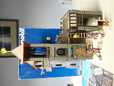 "Playmobil Klicky Set 3445 ""Schuldturm"" selten/gebraucht"