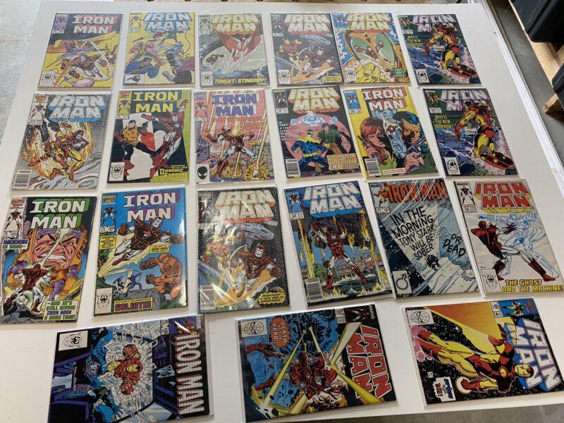 iron man comic book lot