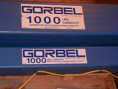Articulating Jib Crane-gorbel - 12 Ton Capacity Span 16 Ft Hub 16 Ft