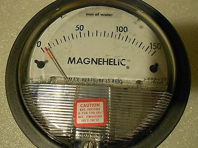 Dwyer Instruments 0-150 Mm Of Water 15psig Magnehelic Gage 2000-150mm