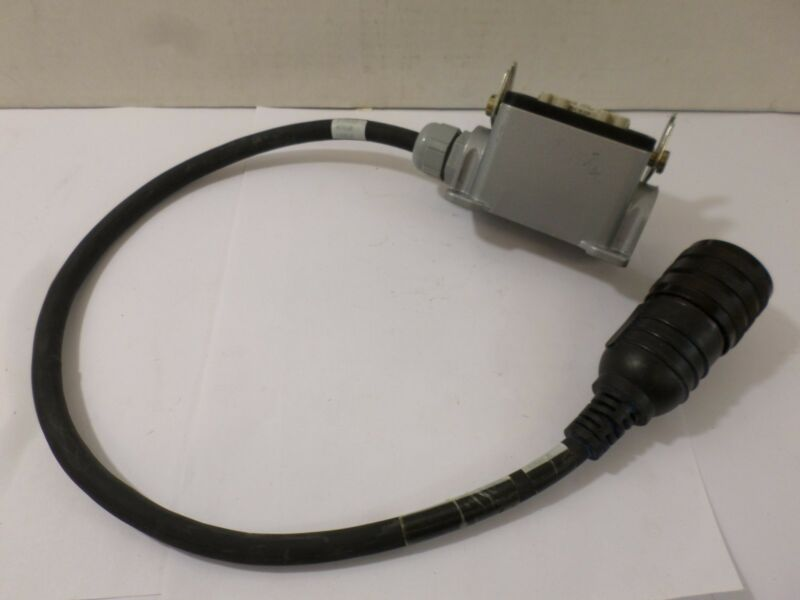 Used Allen Bradley cable with ends 1326-CPB1T-005 Servo Power Cable