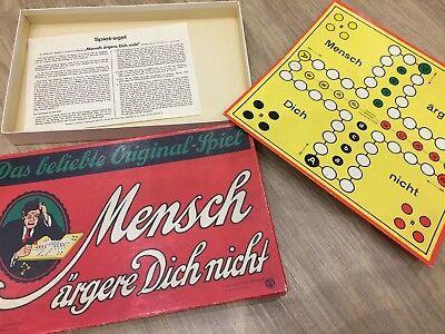 """Nr.2 L J.F.S.M. Würfelspiel Mensch ärgere Dich nicht"""",ab 6 Jahre,vollständig✅alt (6 Jahre Alte Spiele)"""