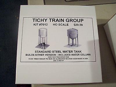 Tichy HO Trains Steel Water Tank 100,000 Gallon Kit 7012