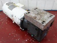 Leeson 108226.00 DCPM Motor 1/2HP, 90V, FR: ZS56C w/ F71530B5J Reducer 30:1