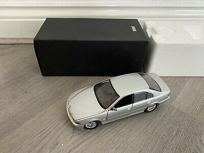 Pauls Model Art 1:24 Scale BMW 5 Series Silver Diecast Model Car With Box