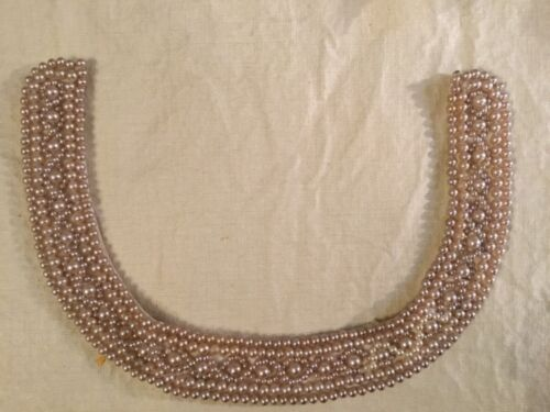 Vintage PEARL COLLAR NECKLACE - BEAUTIFUL ARTISTRY!