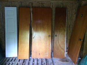 Interior wood doors and bifold doors