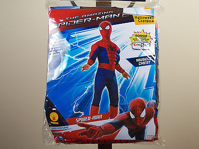 Marvel Amazing Spider-Man 2 Halloween Costume Boys Large 12-14 Spiderman **NEW**](Awesome Costumes For Boys)