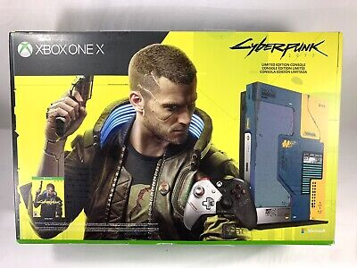 Xbox One X Cyberpunk 2077 Limited Edition Console Bundle 1TB SHIPS TODAY!