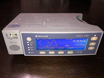 Nellcor Oximax N-600x Pulse Oximeter Spo2 Sensor W Extension. New Battery
