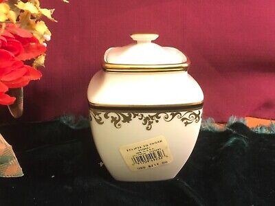 Lenox Eclipse Sugar Bowl Square NEW $212 USA 1stQ Free Shipping  Square Sugar Bowl