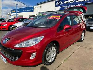 2010 Peugeot 308 TOURING XSE HDi 2.0 Manual Wagon Fyshwick South Canberra Preview
