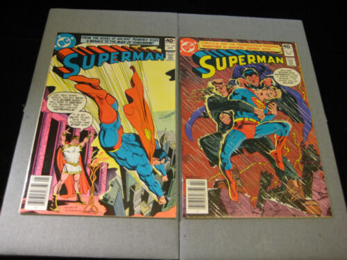 Superman #343 and #344 (DC, 1980)