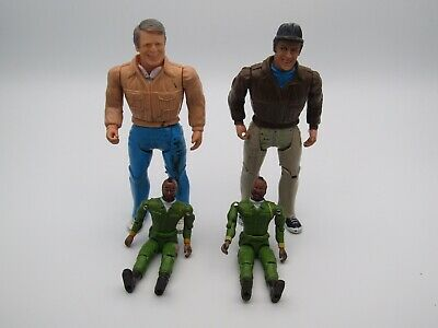 Vintage 1980's A Team Figures Bundle Joblot, Free Postage