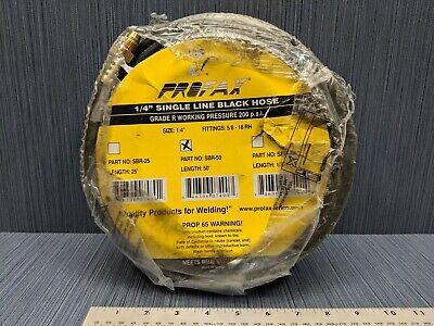 Profax Sbr-50 Hydraulic Crimped Fitting Grade R Welding Hose 14 Inch Id 50 Ft