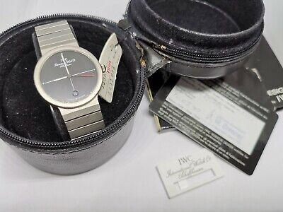 Porsche Design IWC 32mm Titanium Watch 1990 box papers tag full set