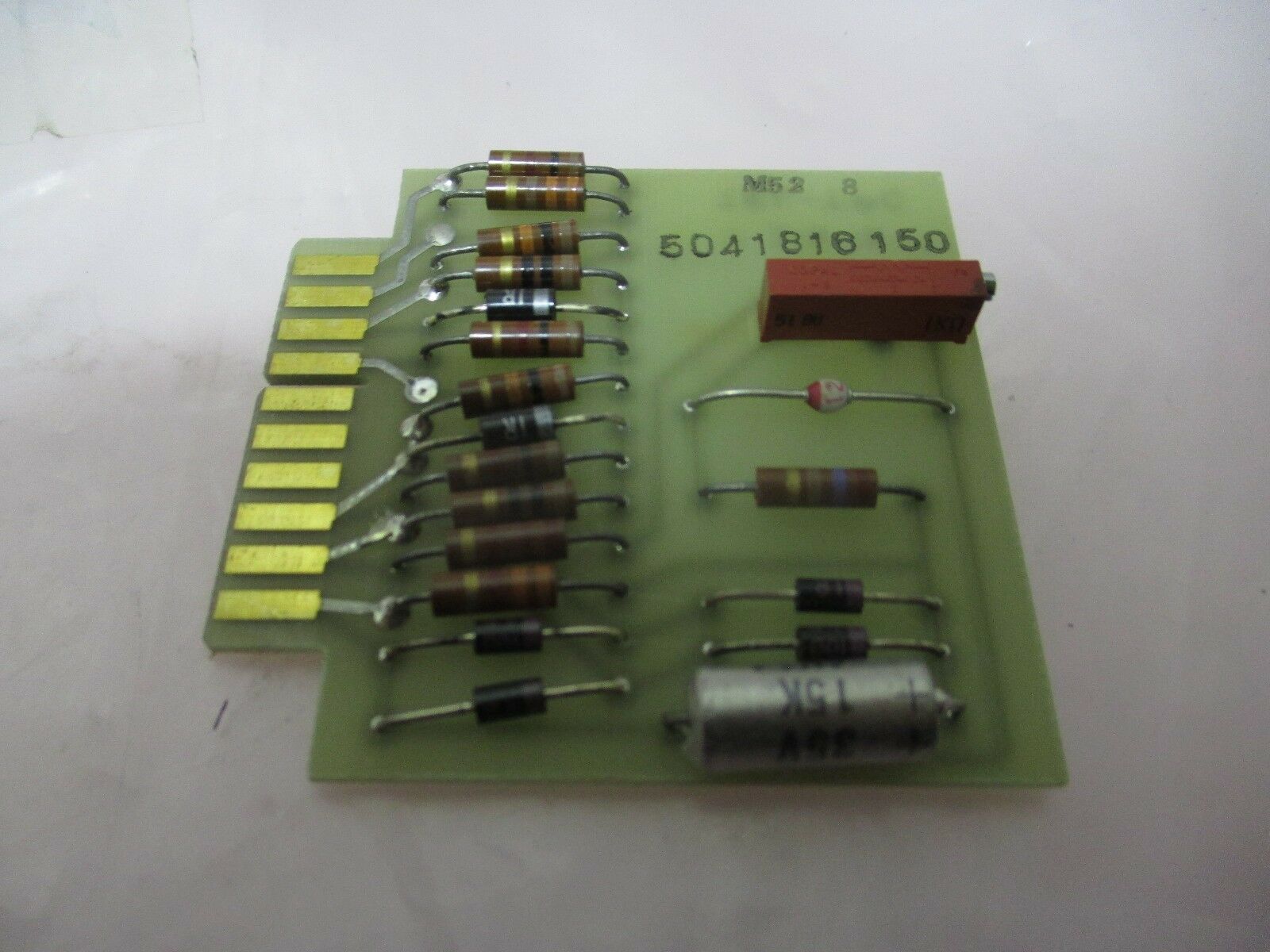 M52-8 PCB for Speed Controller, 5041816150, TEL-TPC, T-319-12, 421215