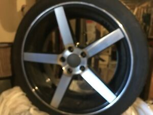 SOLD 235/40 R18 alloy rims and tires