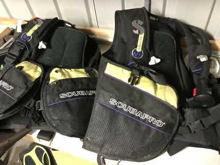 Scubapro bcd x2. Xs and med
