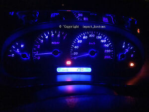 VT VX VU WH UTE Calais Berlina SS HSV Blue LED Dash Cluster Light Kit Commodore