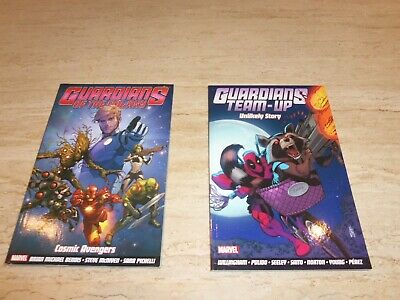 Marvel Comics Graphic Novel - Guardians of the Galaxy Cosmic Avengers Unlikely