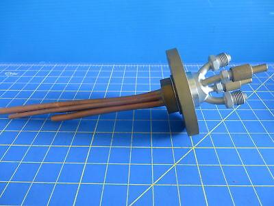 Temescal Sloan Telemark Style Electron-beam Feedthrough