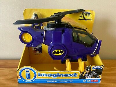 FISHER-PRICE IMAGINEXT DC SUPER FRIENDS BATGIRL HELICOPTER NEW!
