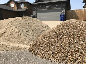 Crushed rock, sand,Base gravel,Crusher dust,Topsoil