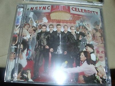 NSYNC CELEBRITY CD GOOD CONDITION