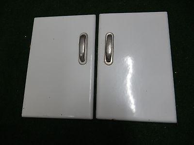miniature enamel doors suit ART DECO DECOR   VG  classic style handles nice also