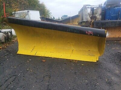 Heavy Duty Roll Plow To Right 10 Ft Snow Plow Mechanical Truck Tractor