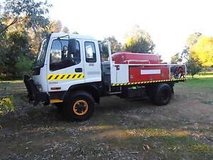 Fire truck Isuzu FSS 550 4x4 1996 Midvale Mundaring Area Preview