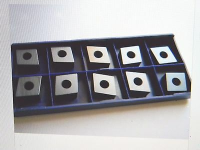 Stellram Ceramic Turning Inserts CNGA160708 CNGA552 SA7402 Qty.10 #028097