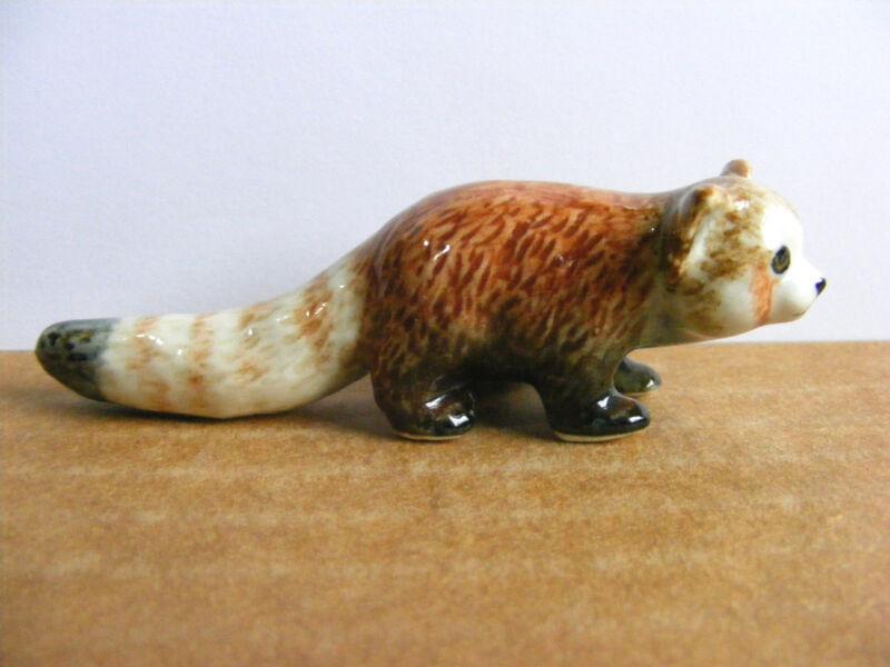 Klima Red Panda Miniature Animal Figurine Support Wildlife Rehab