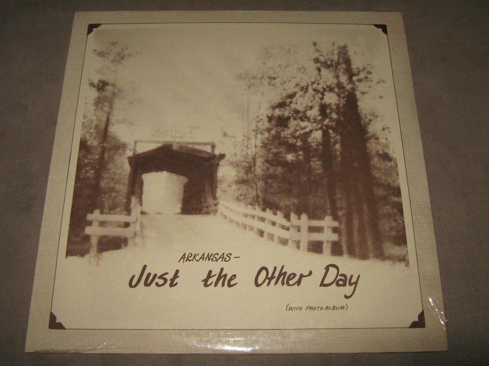 ARKANSAS Just the Other Day RARE SEALED New Vinyl LP Arkansas Charley Sandage