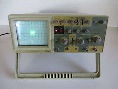 Elenco S-1340 40mhz Oscilloscope Analog Dual 2 Channel