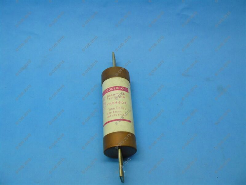 Shawmut TRS450R Time Delay Fuse Class RK5 450 Amps 600VAC/600VDC New