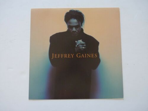 Jeffrey Gaines LP Record Photo Flat 12x12 Poster