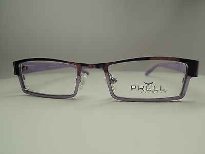 Prell 2015 Shiny Purple Eyeglasses for Women. Designed in Italy. 100% Authentic.