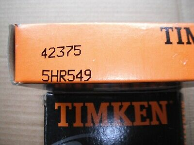 Timken 42375 Tapered Roller Bearing Lot Qty 3 In Lot