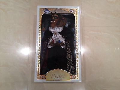 New Disney Store Exclusive Beauty And the Beast Beast Doll Limited Edition