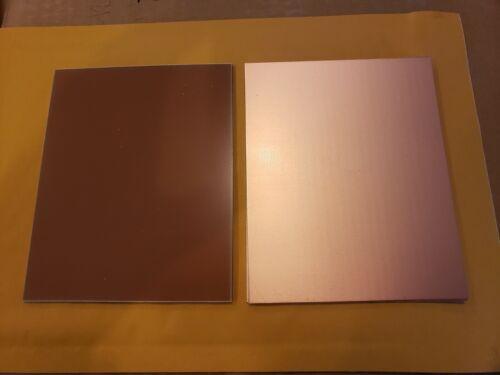 4 pcs  Single Sided Copper Clad Laminate PCB  FR-4, .031, 8 x 12, 1 oz.