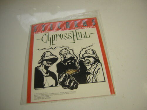 CYPRESS HILL STICKER 1993 LICENSED SEALED PHUNCKY CARTOONINSANE IN THE MEMBRANE