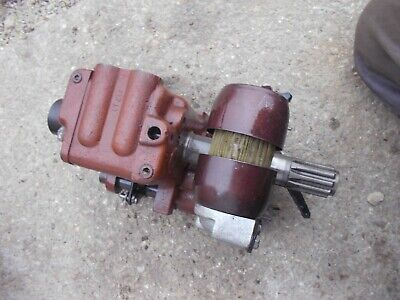 Massey Ferguson 35 Mf Tractor Transmission Main Hydraulic Oil Pump Assembly