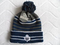 Vintage Toronto Maple Leafs Old Time Hockey Chunky Beanie Bobble Tuque Hat Nhl - old time hockey vintage official nhl - ebay.co.uk