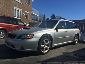 Subaru Legacy GT wagon avec turbo de STI tuned professionally