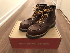 1 month old red wing roughneck US7