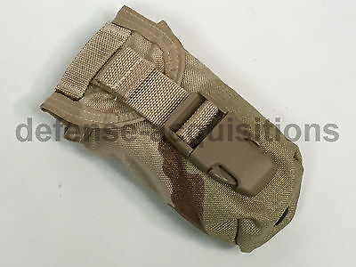 NEW US Military Issue DCU Desert Camo Flashbang Grenade Pouch MOLLE II