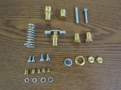 John Deere A B 50 60 Tractor Single Induction Carb Hardware Kit 12h64r 9030